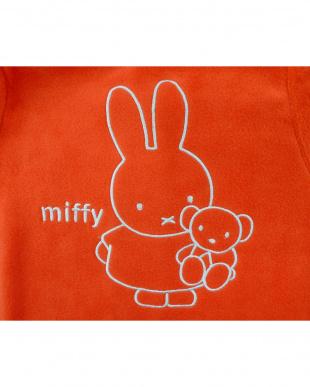 オレンジ  着る毛布ベビーNuKME ブルーナ【miffy】│BABY見る