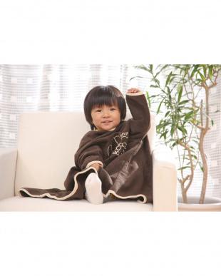 ブラウン  着る毛布ベビーNuKME ブルーナ【miffy】│BABY見る