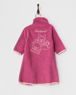 ピンク  着る毛布ベビーNuKME 【りらっくま】│BABY見る