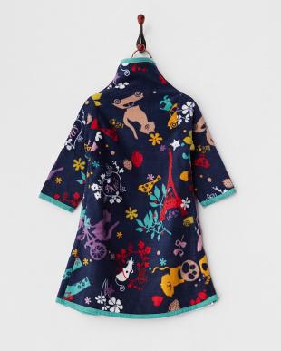 ネイビー  着る毛布ベビーNuKME 【アトリエLZC】│BABY見る