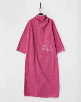ピンク  着る毛布ジュニアNuKME ブルーナ【miffy】 150cm丈│UNISEX見る