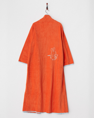 オレンジ  着る毛布ジュニアNuKME ブルーナ【miffy】 150cm丈│UNISEX見る
