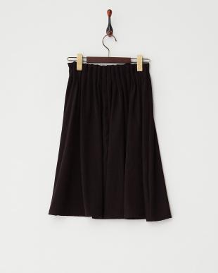 ブラック  タックウエスト スカート見る