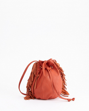 ORANGE  COW SUEDE FRINGE SHOULDER見る