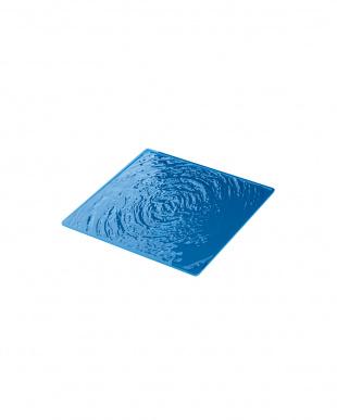 ブルー AQUA グラスコースター6個セット見る