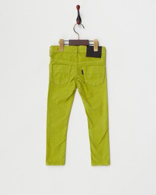 イエローグリーン  コーデュロイ5ポケットスキニーパンツ|GIRL見る