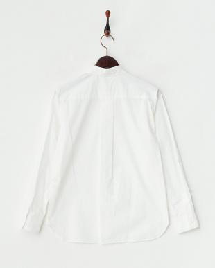 white  ブロードシャツ見る