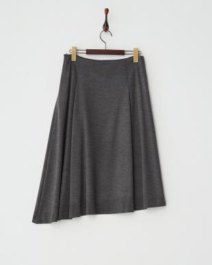 グレー  アシンメトリースカート見る