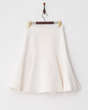 リリィ  レース装飾フレアスカート見る