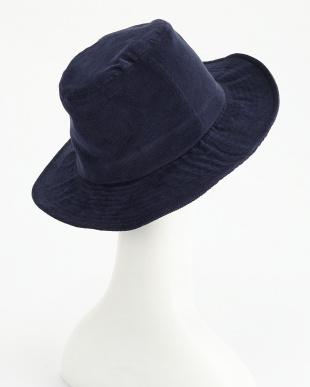 ネイビー  AUTHENTIC OC_CORDUROY LONG BRIM HAT見る