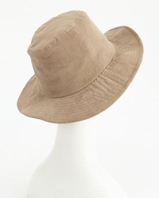 ベージュ  AUTHENTIC OC_CORDUROY LONG BRIM HAT見る