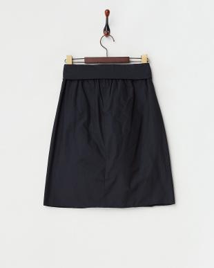 ブラック  リボンベルトスカート|WOMEN見る