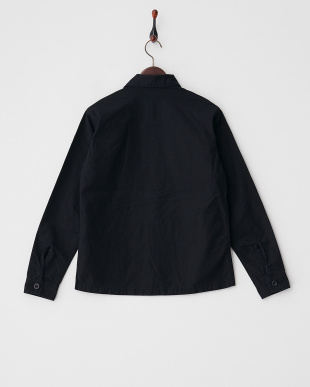 ブラック ミリタリーシャツ見る