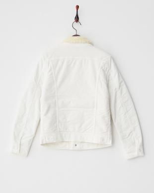 ホワイト Boa Jacket見る