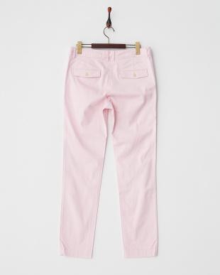 ピンク  スリムパンツ見る