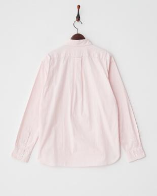 ピンク ピンオックスシャツ 1/2見る