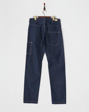 ブルー  日本製1890 WORK PANTS見る