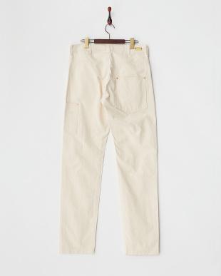 ホワイト  日本製1890 WORK PANTS見る