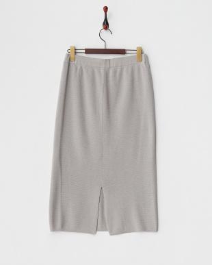 グレー  ミラノリブタイトスカート見る