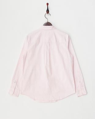 ピンク  オックスレギュラーシャツ見る
