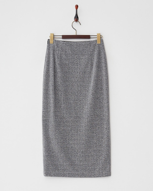 シルバー  ラメスリットタイトスカート見る