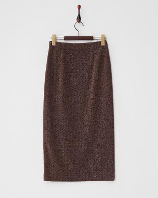 その他(ブロンズ系)  ラメスリットタイトスカート見る