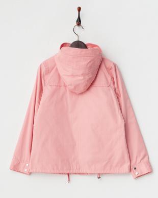 ピンク  フロントリボン装飾ジャケット見る
