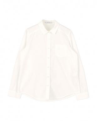オフホワイト レギュラーシャツ見る