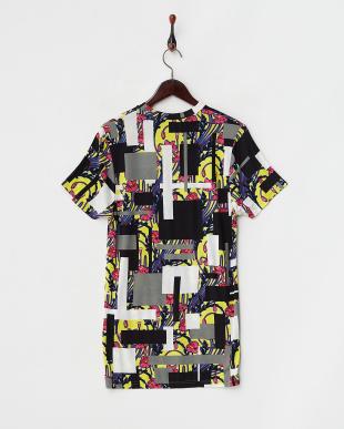 イエロー フラワー婦人Tシャツ見る