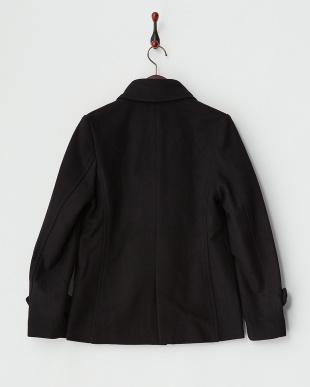ブラック  ベーシックPコート見る