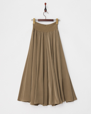 MOCA  サテンラップマキシスカート見る