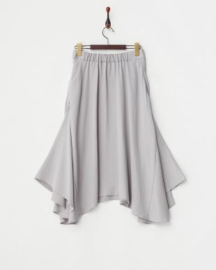 GRAY テンセルフレアスカート見る