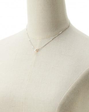 ホワイト アコヤパール ラウンド7.0mm 1粒ネックレス見る