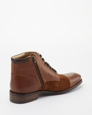 ブラウン  編上ブーツ A見る