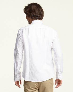 ホワイト  先染めカラミドビーシャツ見る