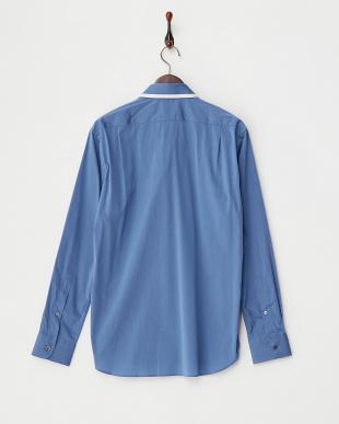 ブルー  SOMELOSヒートシールシャツ見る