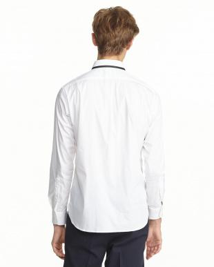 ホワイト  SOMELOSヒートシールシャツ見る