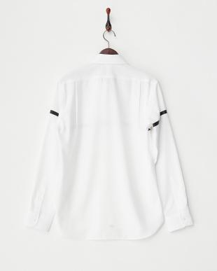 ホワイト ヒートシールラインシャツ見る