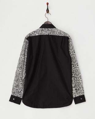 ブラック  リバティクレイジーパターン2シャツ見る