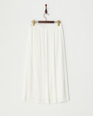 WHT  プリーツロングスカート見る