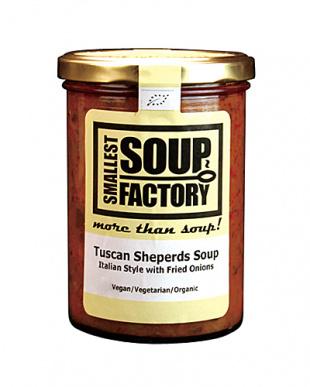 トスカーナに住む羊飼いお兄さんの(アクアコッタ)手作りスープ見る