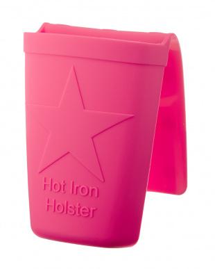 ピンク  ホット アイロン ホルスター見る