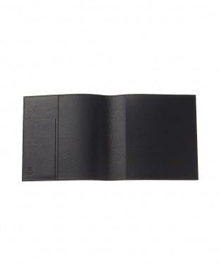 ブラック  MILANO レザー 手帳カバー見る