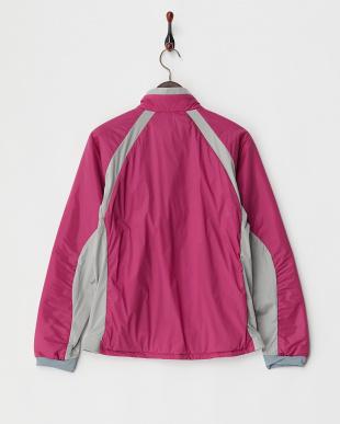 ピンク  3DeFX+中綿ジャケット見る