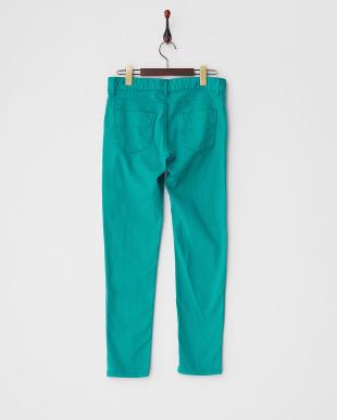グリーン  5ポケットカラースキニーパンツ見る
