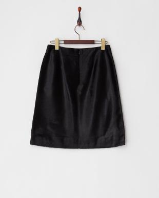 ブラック(A)  ハラコタイトスカート見る