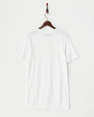 ホワイト UNIVERSITY 蛍光プリントTシャツ見る