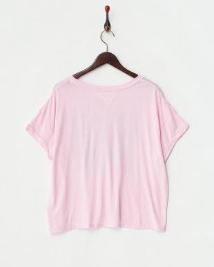 ピンク プレイボーイコラボTシャツ-3見る