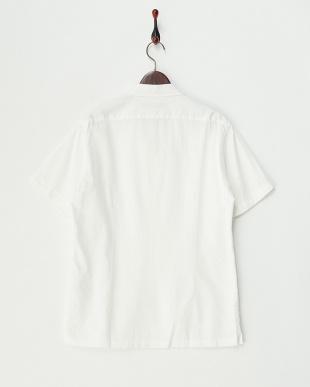 ホワイト ボックスシルエット 半袖シャツ見る
