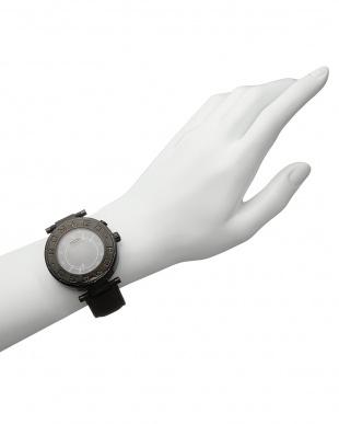 ブラック×ブラック 腕時計 RM002-0055ST見る